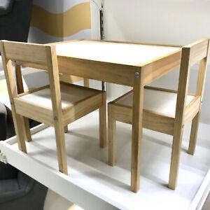 Details zu IKEA Lätt Kindertisch mit 2 Stühlen Kinder Stuhl Tisch Set  Kindermöbel NEU & OVP