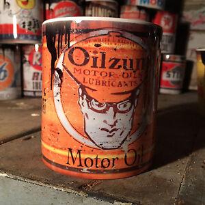 2x-Oilzum-oil-can-Gift-Motorcycle-Car-Mechanic-Gift-11oz-Tea-coffee-mugs