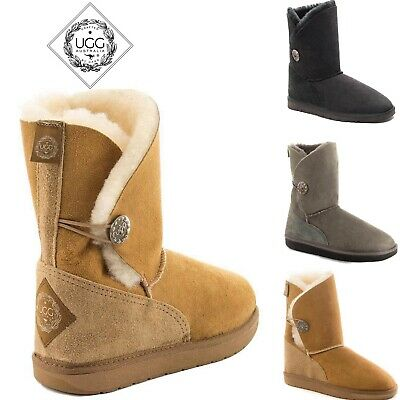 ugg made from sheepskin