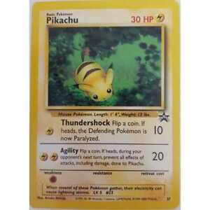 Pokemon-Cards-Pikachu-Black-Star-Promo-27-Englisch-NM-Mint