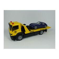 """Siku  2712 Mercedes Atego """"ÖAMTC"""" Abschleppwagen mit Wiesmann GT blau NEU! °"""