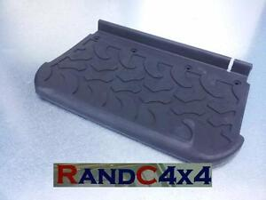 DA4814-Land-Rover-Defender-Folding-Side-Step-Tread-Plate-Rubber-Cover-90-110-130