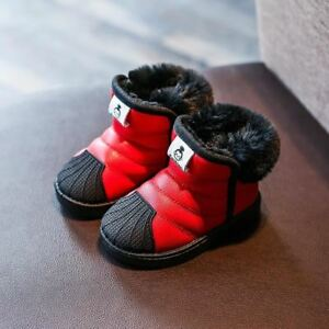 4b703d2589c One pair Winter Baby Girls Boys Snow Boots Warm Outdoor Children ...