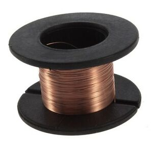 0-1mm-Copper-Soldering-Solder-PPA-Enamelled-Reel-Wire-15m-Connecting-Line