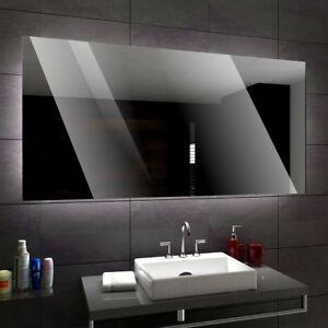 DUBAI Badspiegel mit LED Beleuchtung Wandspiegel Badezimmerspiegel ...