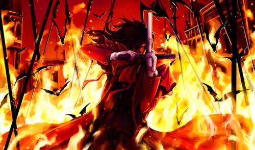 8 **UK SELLER** Hellsing Alucard XXL Over 1 Meter Wide 1 Piece Glossy Poster