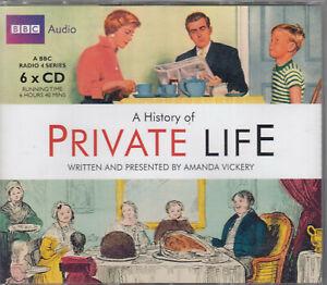 A-History-Of-Private-Life-Amanda-Vickery-6CD-Audio-BBC-Radio-4-Series-FASTPOST