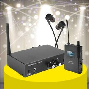 ANLEON-S2-UHF-Stereo-Monitor-System-Wireless-In-ear-Stage-Trasmitter-Receiver