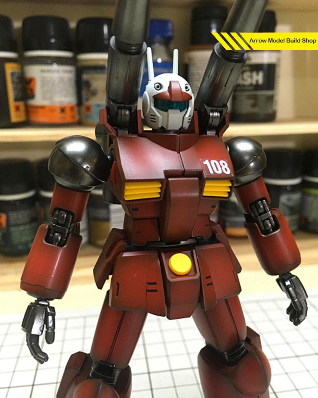 arrowmodelbuild guncannon mg costruito & dipinto 1  100 model model 100 kit 4662f0