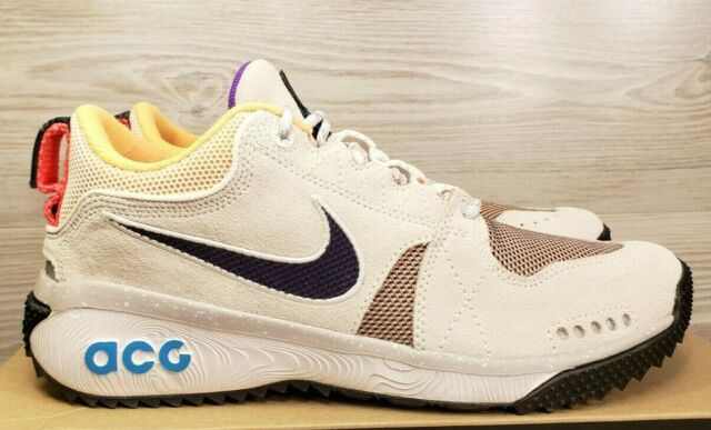 b25a51fc152a Nike ACG Dog Mountain Summit White Black Hiking Shoes AQ0916-100 Pick Size