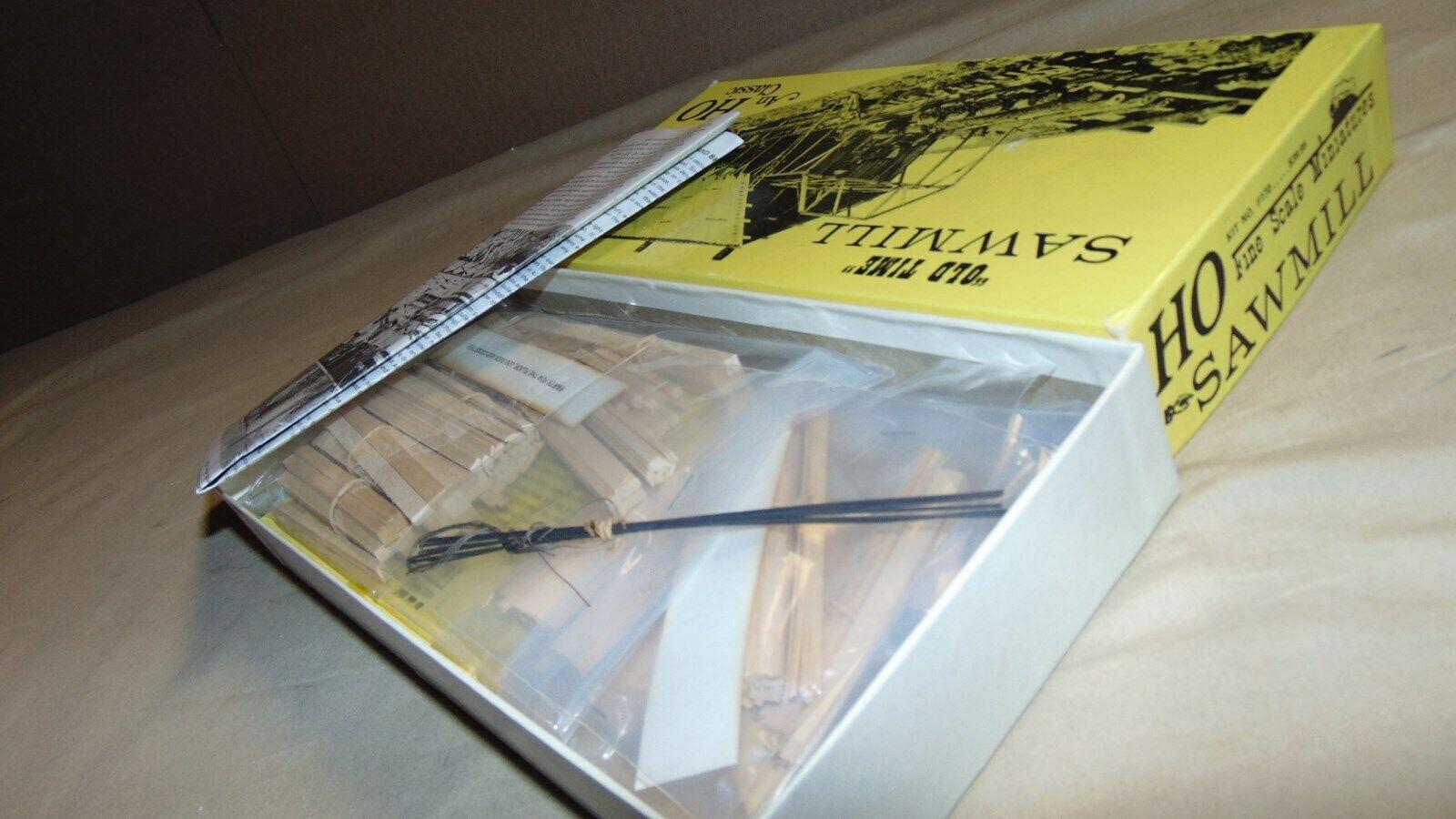 FINE SCALE MINATURES 170 SAWMILL NEW IN ORIGINAL BOX...
