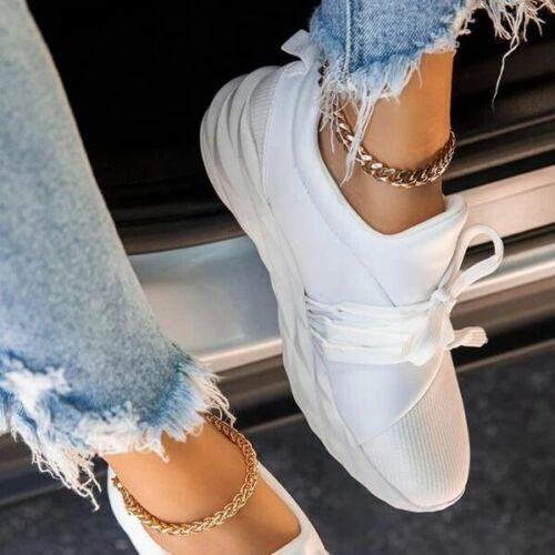 Damen Sportschuhe Turnschuhe Laufschuhe Leichtgewicht Sneaker Freizeit Schuhe
