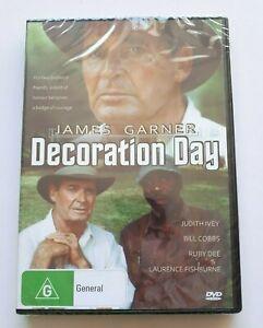 Decoration-Day-James-Garner-PAL-DVD-Region-4-New-Sealed