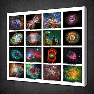 NEBULAE-OF-UNIVERSE-SPACE-MODERN-CANVAS-WALL-ART-PICTURE-PRINT-READY-TO-HANG