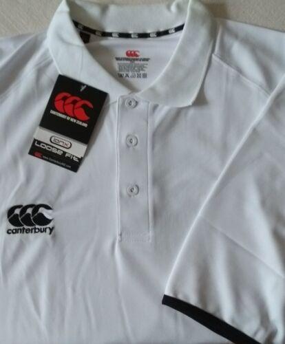 Canterbury ionx loose fit polo shirt BNWT