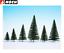 thumbnail 2 - NOCH-26930-Fir-Trees-5-14-CM-High-10-Piece-New-Boxed