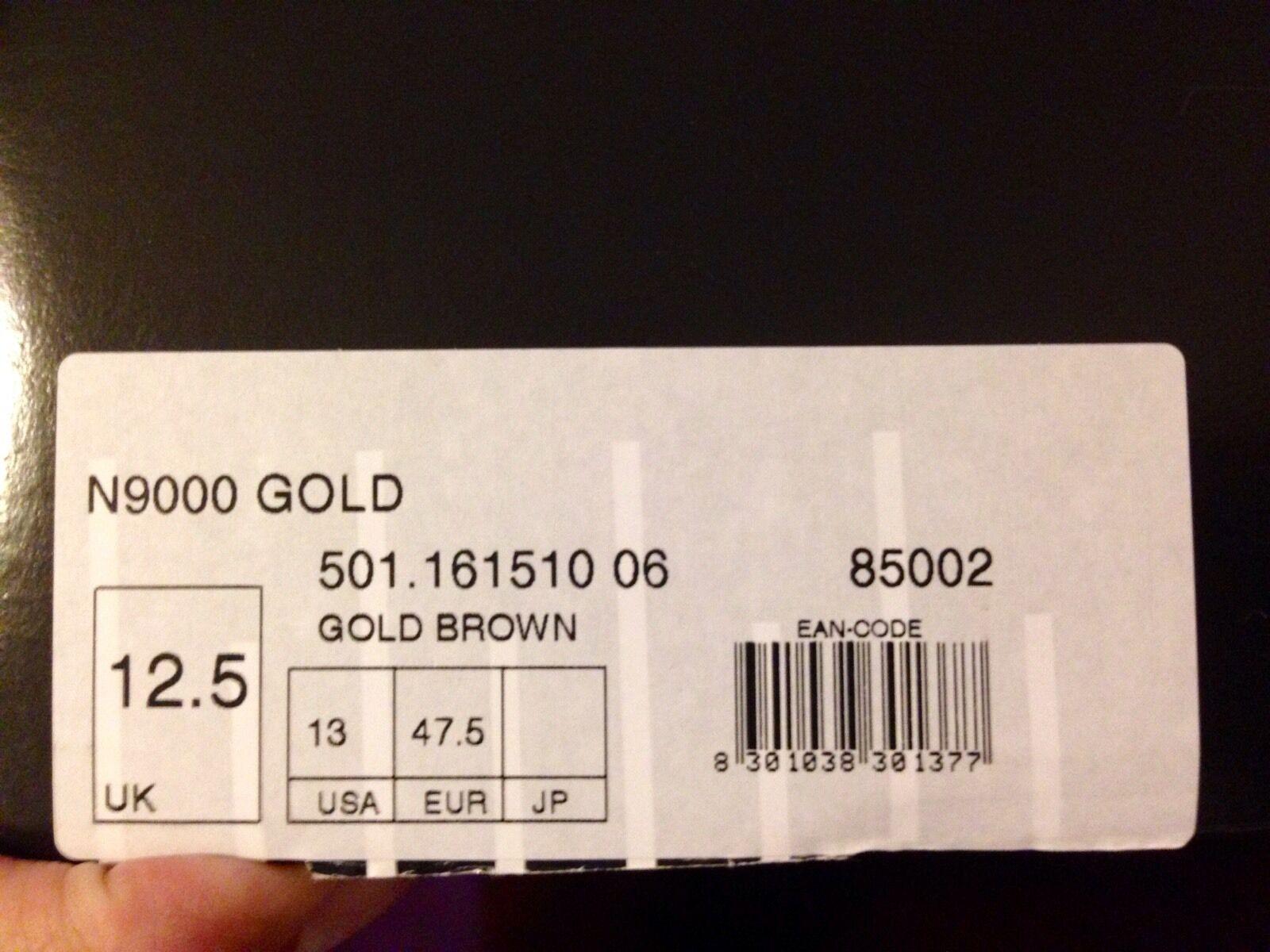 Brand New Diadora N9000 Italia Italia Italia 90 Gold Pack Size US 13. Deadstock 1d8b0d
