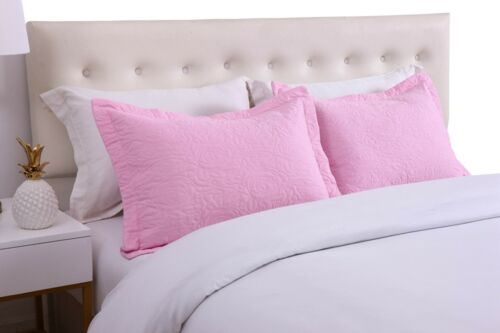 King Size 2PC Pillow Shams Pillow Shams King size