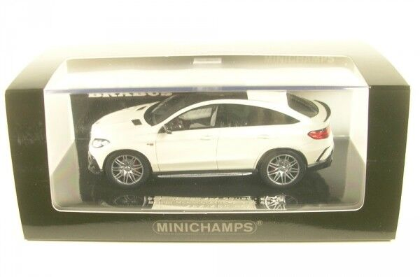 Brabus 850 4x4 Coupe Basis Mercedes-Benz AMG GLE 63 S (white) 2016