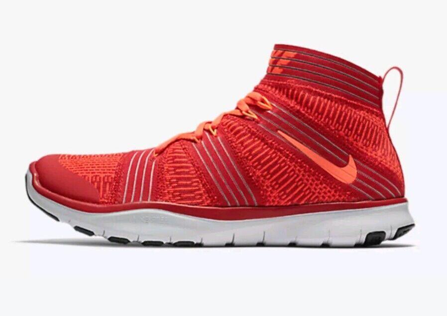 Nike Free Train Virtue Training shoes Man US US US 8.5 Red orange 898052-600 NEW  120 70b67c
