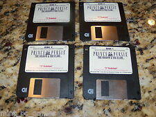 Prince Of Persia 2 The Shadow & The Flame 3.5 Floppy Disk Ibm/Tandy (PC, 1993)