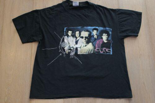 The Cure Wish Tour 1992 Black T-shirt Size XL Vint