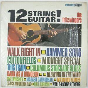 FOLKSWINGERS-GLEN-CAMPBELL-12-String-Guitar-LP-1963-INSTRUMENTAL-FOLK-NM-NM