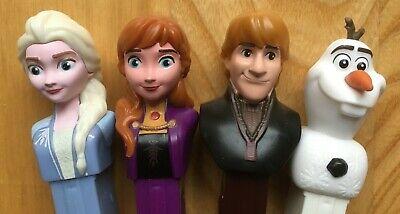 Frozen 2 Pez Dispenser Anna Elsa Olaf Kristoff MOC