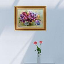 DIY 5D Diamant peinture Fleurs Broderie Point de croix Artisanat maison Décor