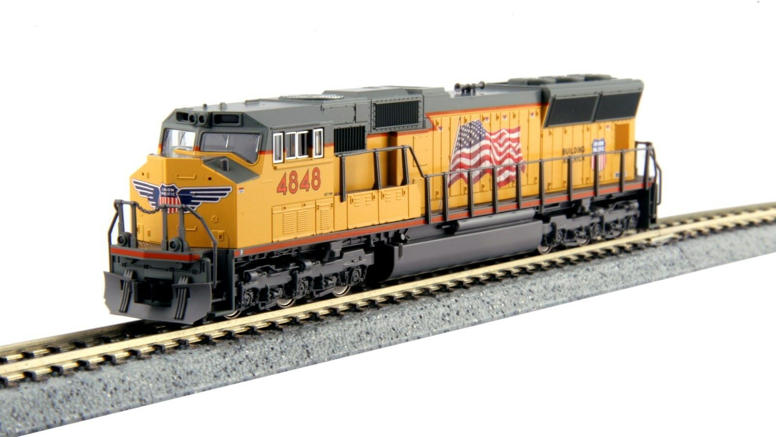 Kato N  176-8610 DC UNION PACIFIC SD70M  4848   .. DC or DCC(tcs or digitrax)