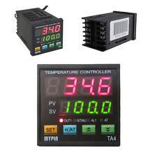 Ta4 Snr Digital Pid Temperature Controller 1 Alarm Relay Output Tcrtd Din 116
