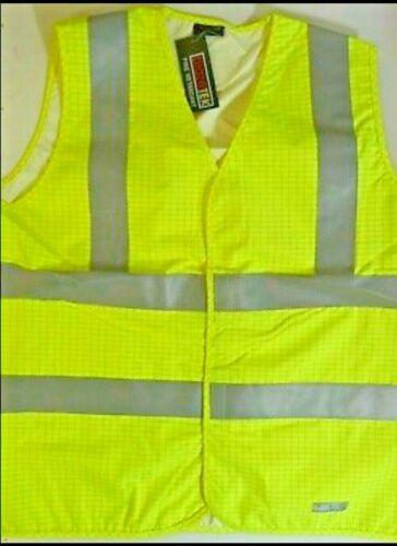 BlazeTEK Flame Retardant Anti Static Hi-Viz Vest Waistcoat Same Day Dispatch