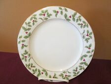 """NORITAKE HOLLY & BERRY GOLD - SALAD PLATE - 8 1/4"""" NEW - 0402F"""