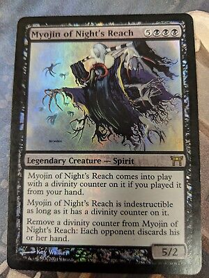 Magic the Gathering MTG Myojin of Night's Reach Kamigawa Rare NM