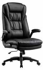 Ergonomic Executive Office Chair Leather High Back Desk With Big Amp Tall Backrest
