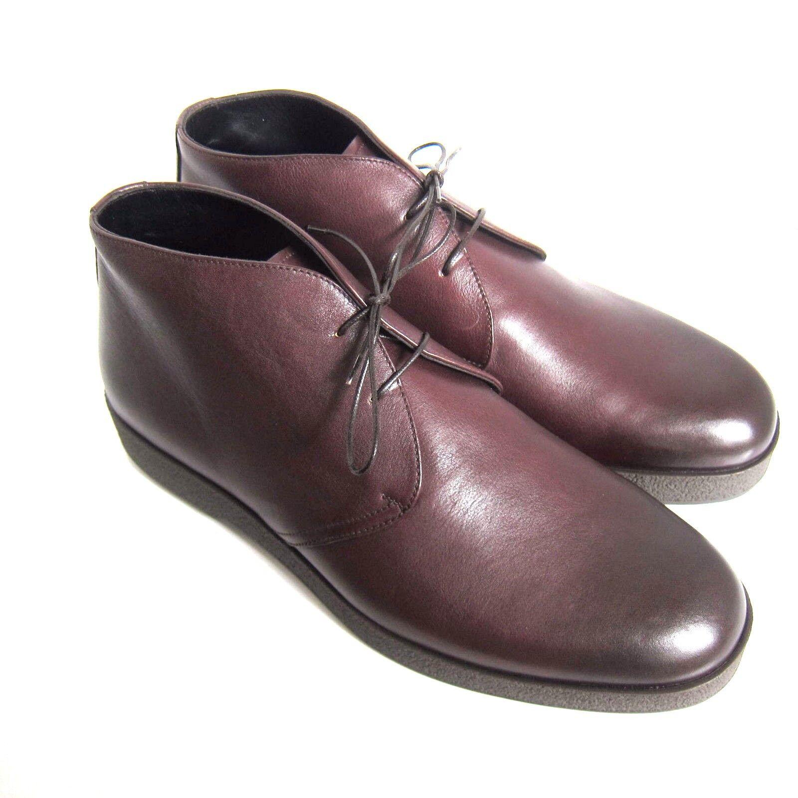 C-1352125 New Ermenegildo Size Zegna Pelle Stivali Shoes Size Ermenegildo US 12 D Marked 11EE aa4901