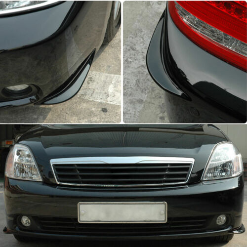 2Stk Anti-reiben Universal Auto Vordere Stoßstange Eckenschutz Lip Guard Schutz