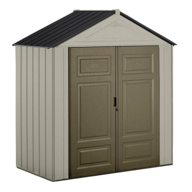 Shed Small 6 Ft X 7 Plastic Yard