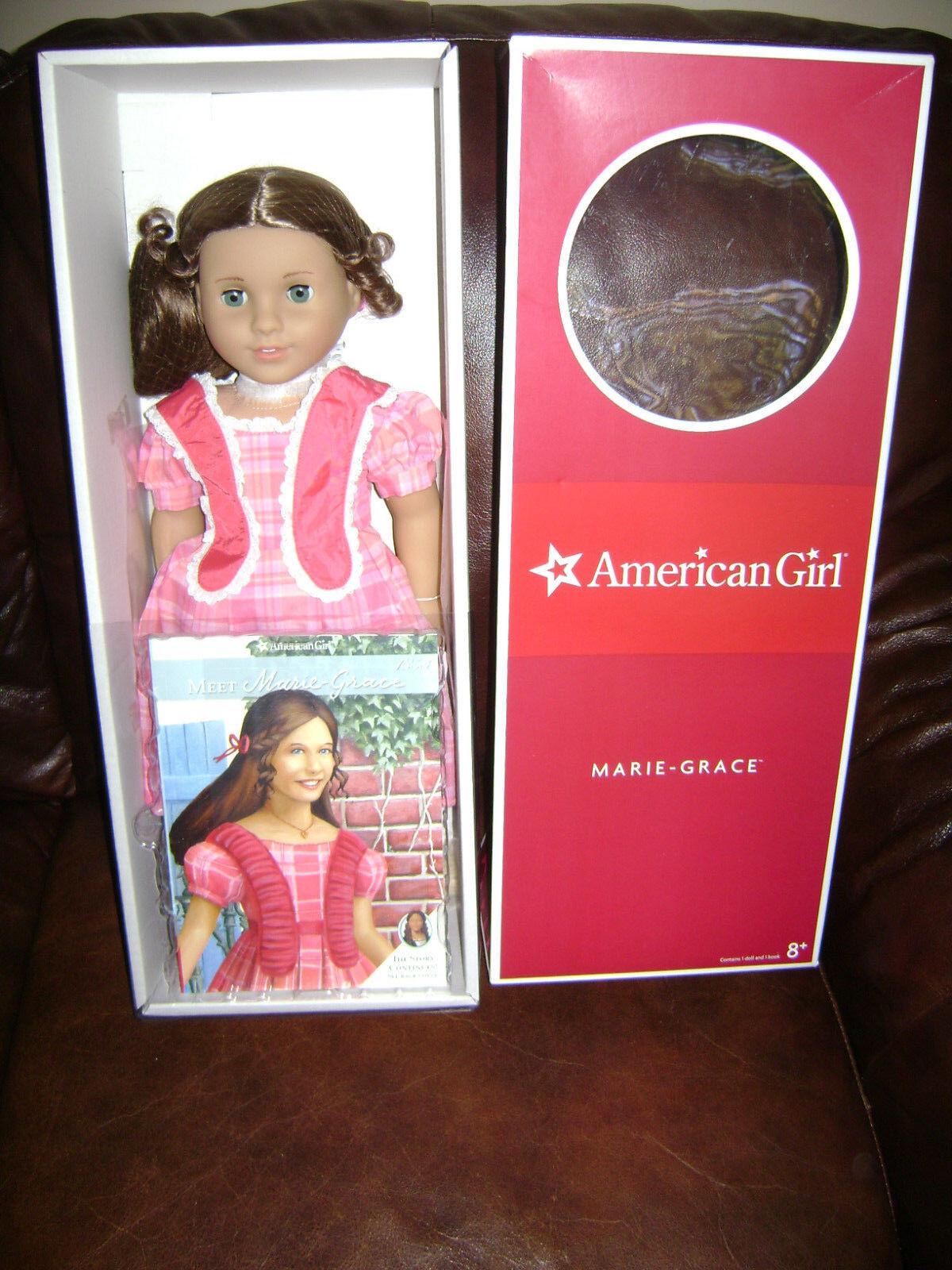 AMERICAN GIRL HISTORICAL DOLL 18  MARIE GRACE  Book friend of CECILE RETIrot NIB