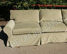 """Replace PB Basic Cover 93/"""" Custom Made Cover Fits Pottery Barn Basic Grand Sofa"""