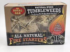 Royal Oak All Natural Tumbleweeds Fire Starters 16 Count