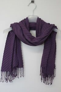 Damen-Tuch-Schal-scarf-ESPRIT-Collection-Wolle-lila-TOP