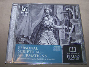 Details about Personal Scriptural Affirmations - Psalms 1-23 Audio CD by  Rabbi K A  Schneider
