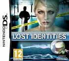 Lost Identities Nintendo NDS DS Lite DSi XL game cartridge is New but box old