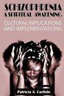 Schizophrenia a Spiritual Awakening: Cultual Implications and Implementations by Patricia a Carlisle (Paperback / softback, 2015)