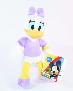 Mickey-Mouse-Clubhouse-DAISY-DUCK-8-034-plush-soft-toy-Disney-Posh-Paws-NEW