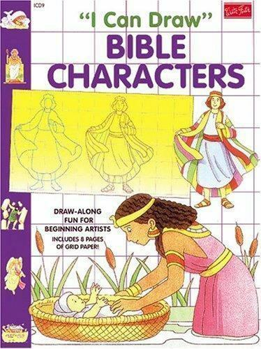 I Can Draw Bible Characters by Schlemme, Roy