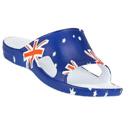 NEW Men *9* *10** 12** DAWGS Australian Flag Flip Flops Sandals Slides NWT!!