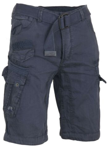 Geographical Norway Uomo Bermuda Pantaloncini pericolo Cintura Estate al ginocchio per vacanza