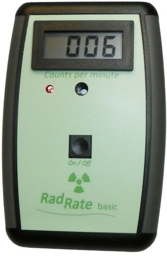 radiation detector and meter compteur geiger Geiger Counter RadRate basic